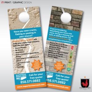Print Design and Graphic Design for Superior Stucco & Stone by Hahn Design Studio