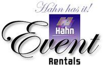 Hahn Event Rental