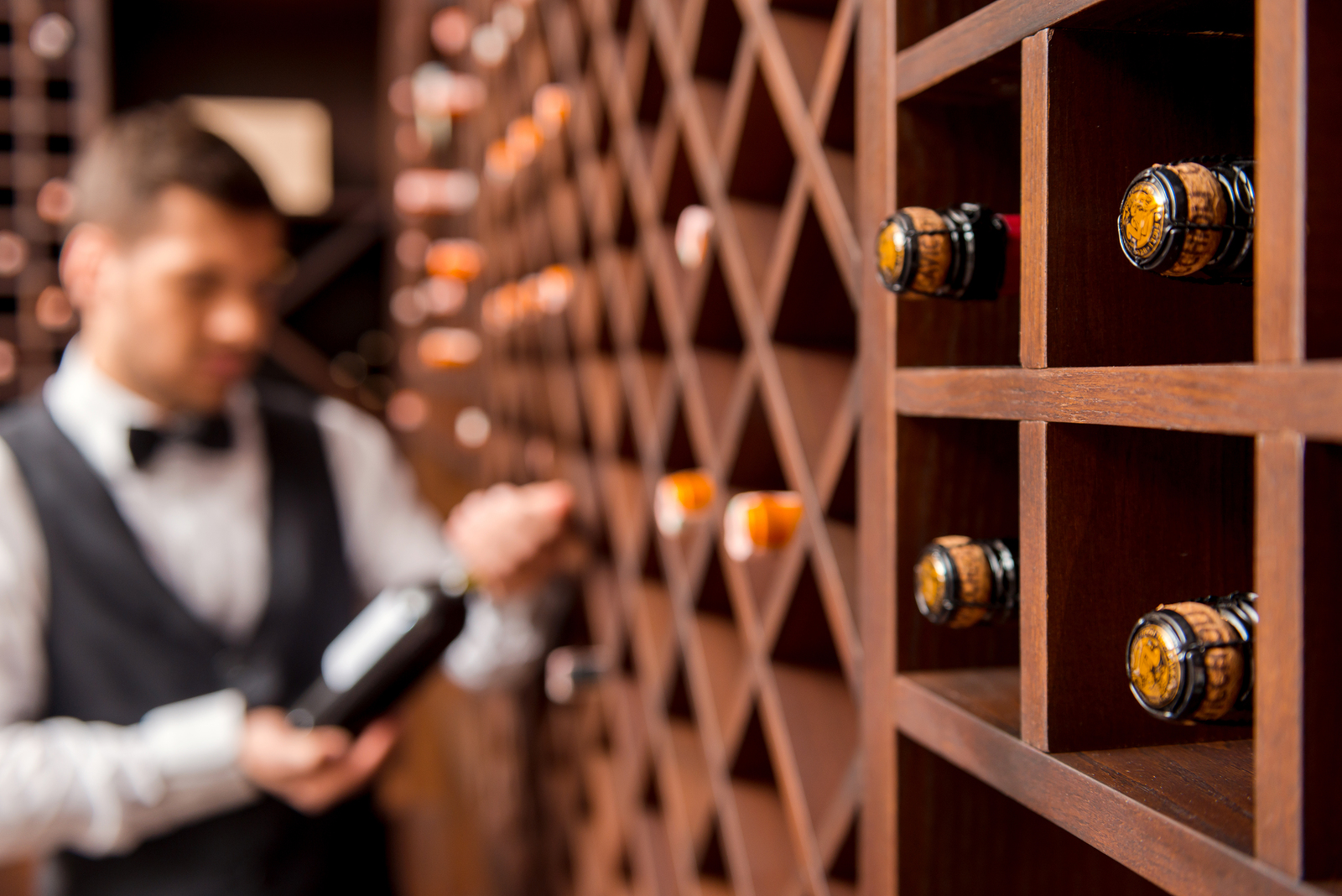 HAHO Wine Sommelier Indonesia - Wine bottle and wine sommelier