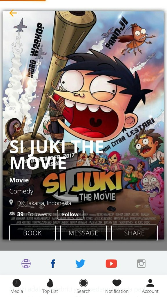 HAHO - Si Juki The Movie