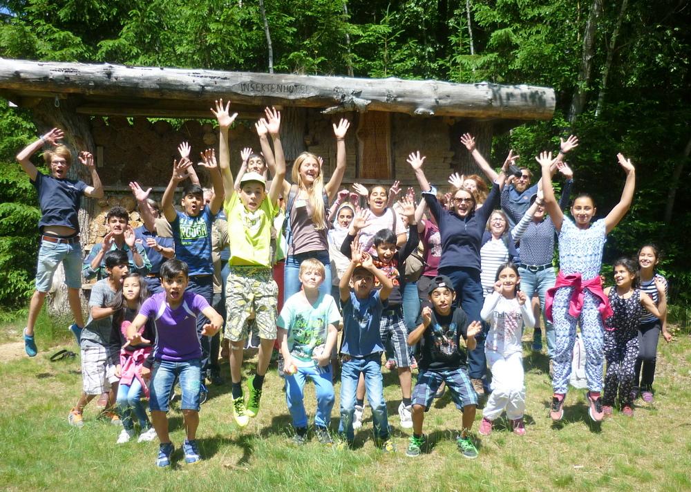 Begeisterung im Bayerischen Nationalpark
