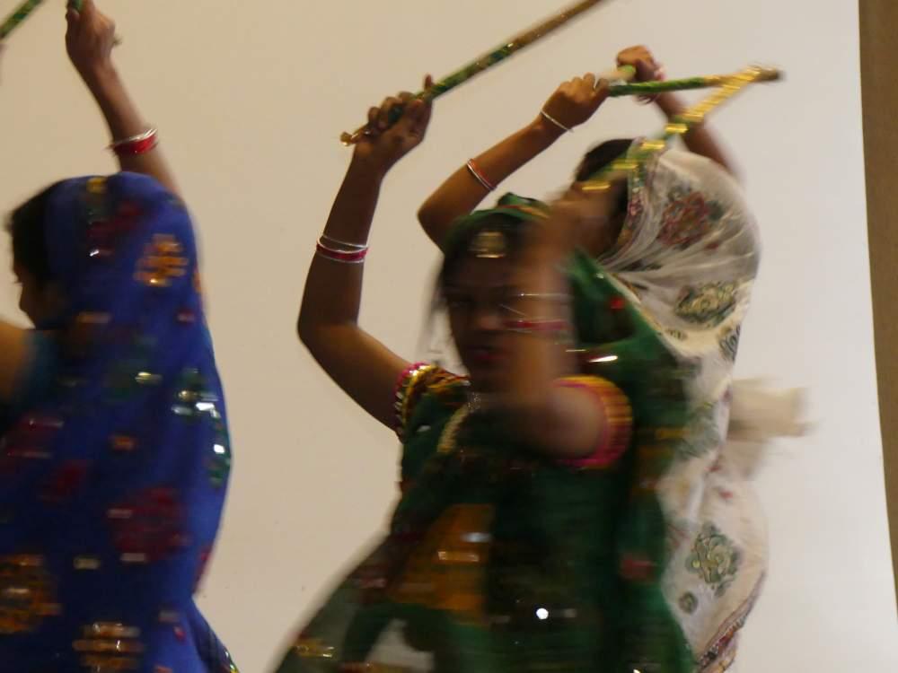 Traditioneller indischer Tanz