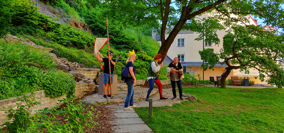 Impro-Theater im Park