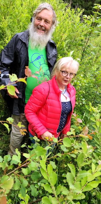 Karel Kleijn und die stellvertretende Landrätin Helga Weinberger