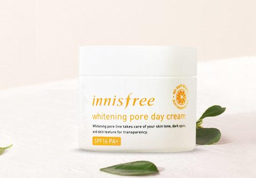Innisfree Whitening Pore Day Cream SPF 16 PA+