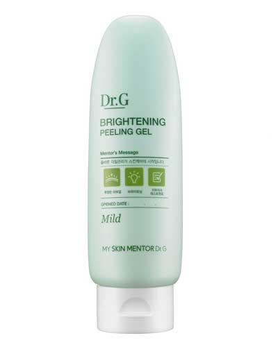 Sabun wajah bagus penghilang komedo - Dr. G Brightening Peeling Gel