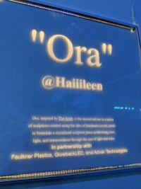 Ora by Haiiileen acrylic LED sign