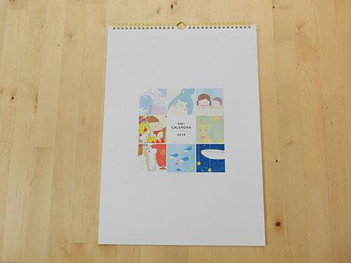 壁掛けカレンダー イラスト