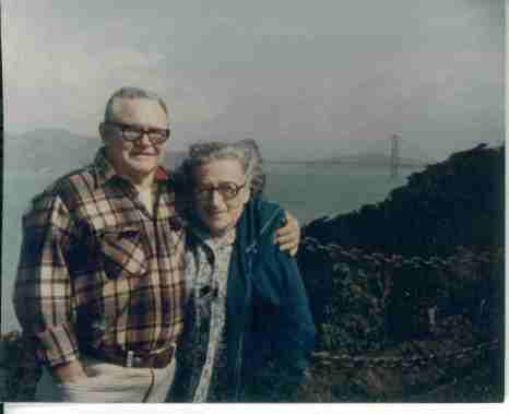 Sally And John Richards At Golden Gate Bridge