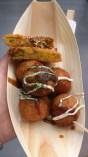 Takoyaki & korokke