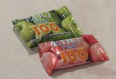 EDO Pack 100 green apple & peach gummies from Japan (?)