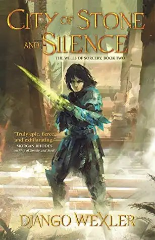 City of Stone and Silence Cover