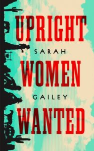 Upright Women Wanted cover, showing sideways Western silhouettes