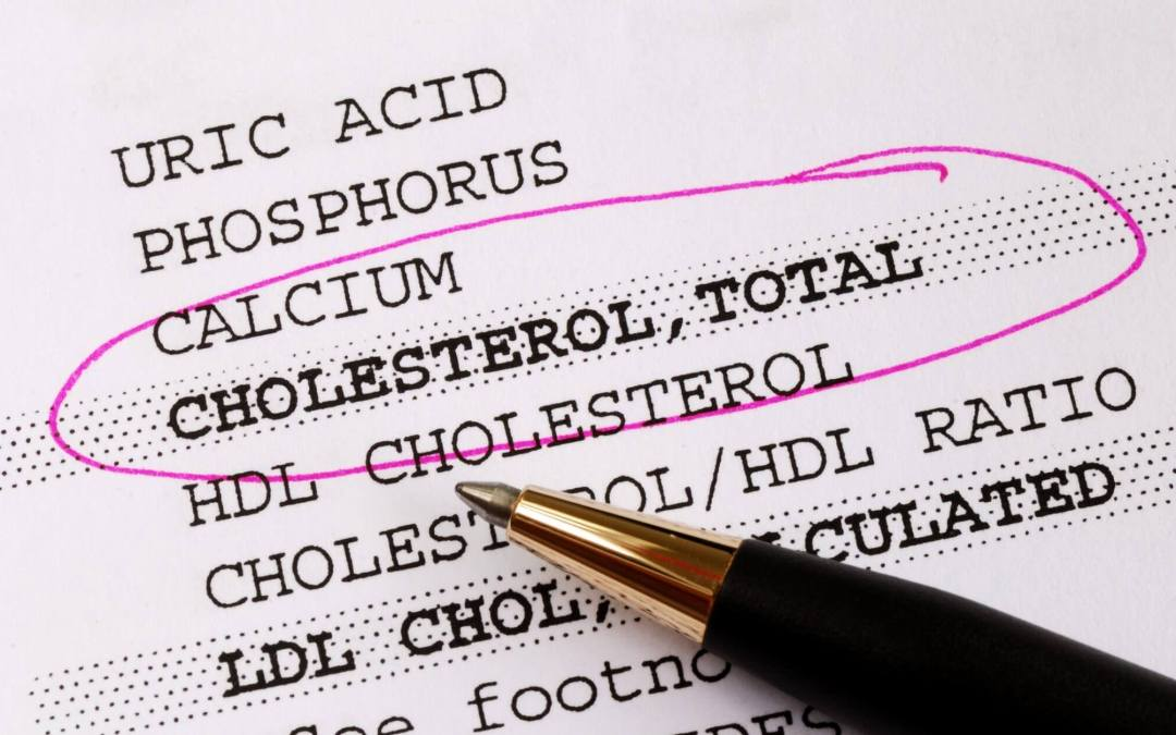 lab results for cholesterol HDL and LDL levels