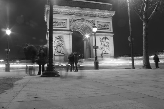 Arc de Triomphe - probably my favorite picture from Paris