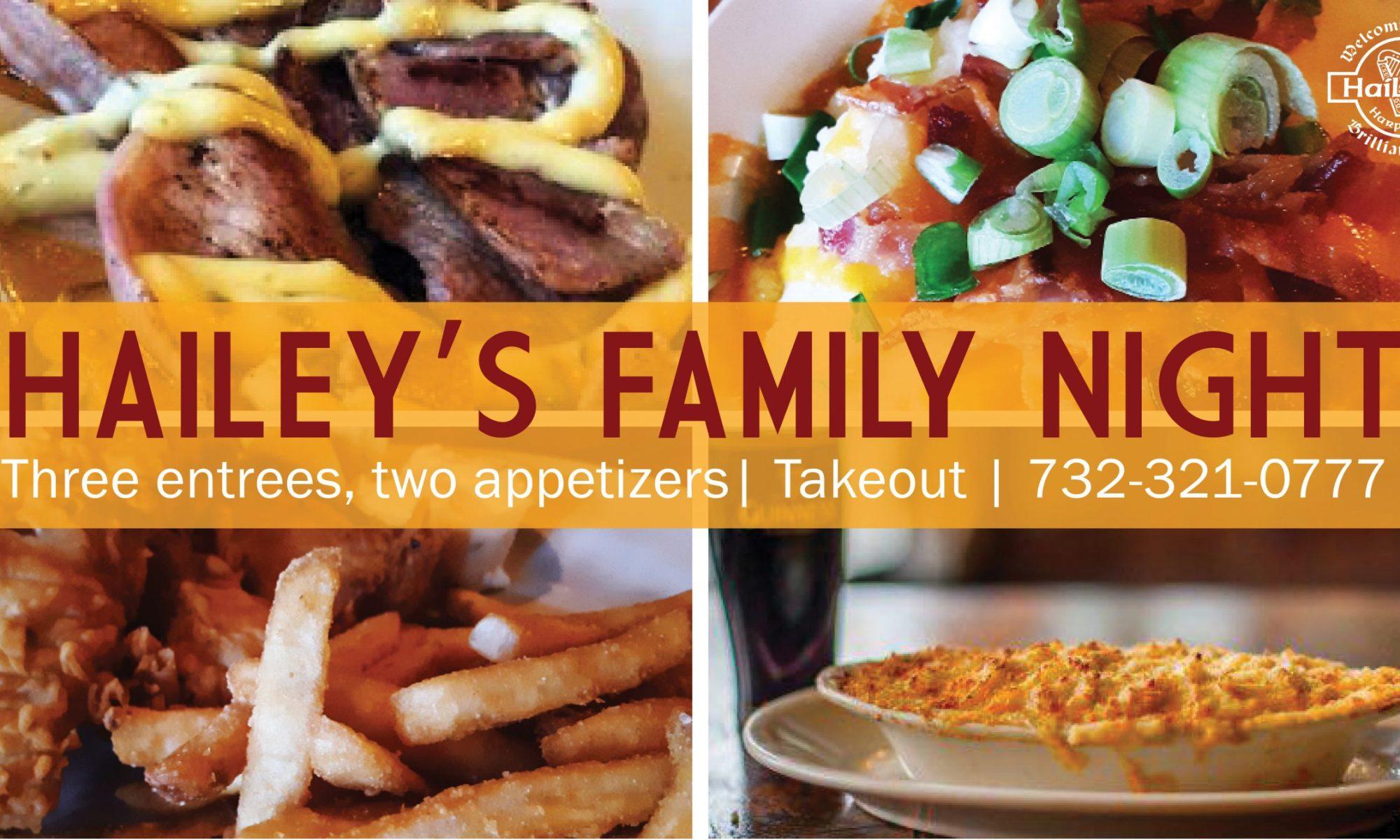 Hailey's Harp and Pub Hailey's Family Night