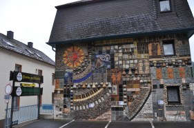 Mosaic wall, Cochem