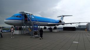 Fokker 100 static display