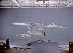 DY-100_and_USS_Enterprise_studio_models_filmed_at_Film_Effects_of_Hollywood