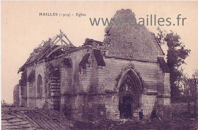eglise détruite