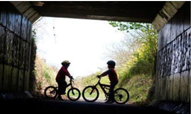 Cuckoo Trail cycling