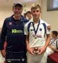 Hailsham cricket club award