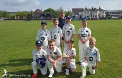 Hailsham cricket club under 9s