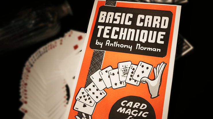 Basic Card Technique by Anthony Norman – Book