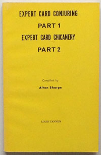 Expert Card Conjuring and Chicanery (Sharpe)