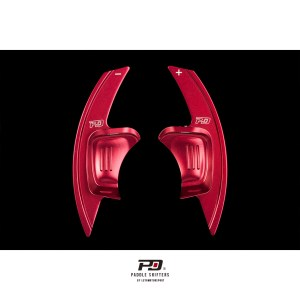 Leyo Motorsport VW Sportline Billet Paddle Shift Extension (Red)