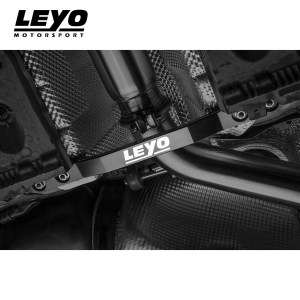 Leyo Motorsport Billet Aluminium Chassis Bar (Black) – VW Mk7 Golf GTI
