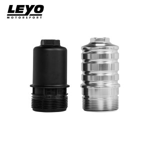 Leyo Motorsport Oil Filter Housing (Black) – VW Golf Mk7 GTI/R & Audi S3 8V