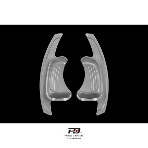 Audi S Tronic Billet Paddle Shift Extension (Silver)(v2)