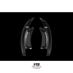 Audi S Tronic Billet Paddle Shift Extension (Black)(v3)
