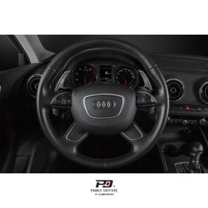 Leyo Motorsport Audi S Tronic Billet Paddle Shift Extension (Black)(v1)