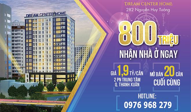 Chung cư 282 Nguyễn Huy Tưởng - Nhận nhà ở ngay chỉ với 800 triệu