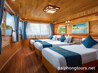 triple room in La Paci cruise