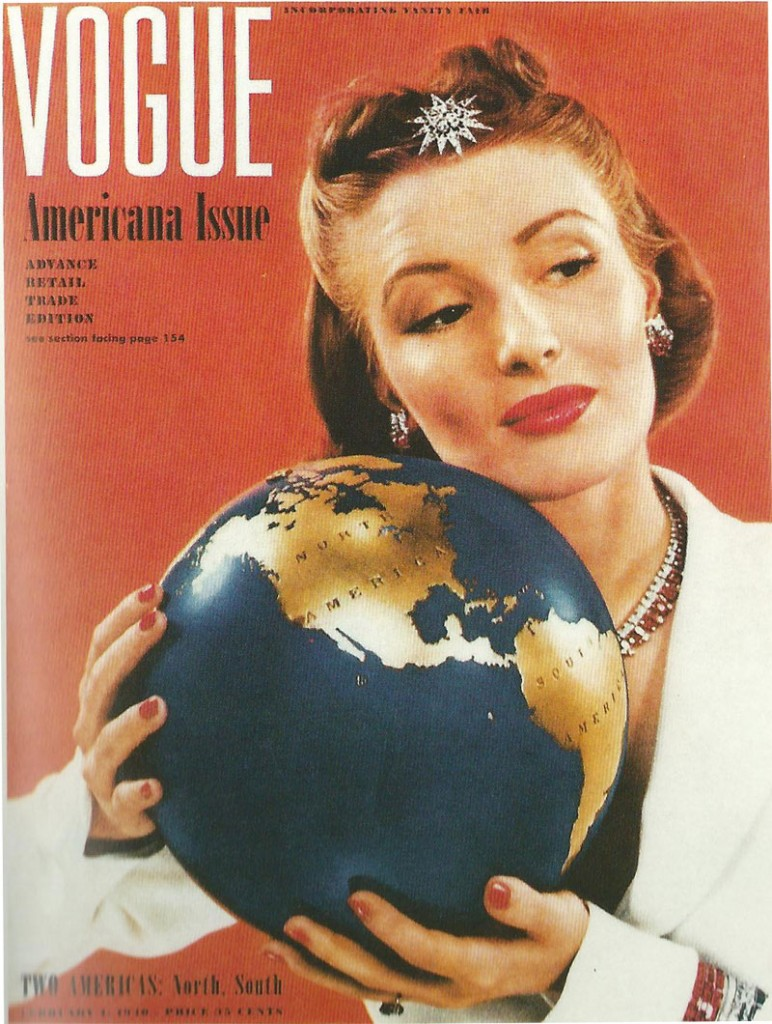 Americana issue of Vogue 1940