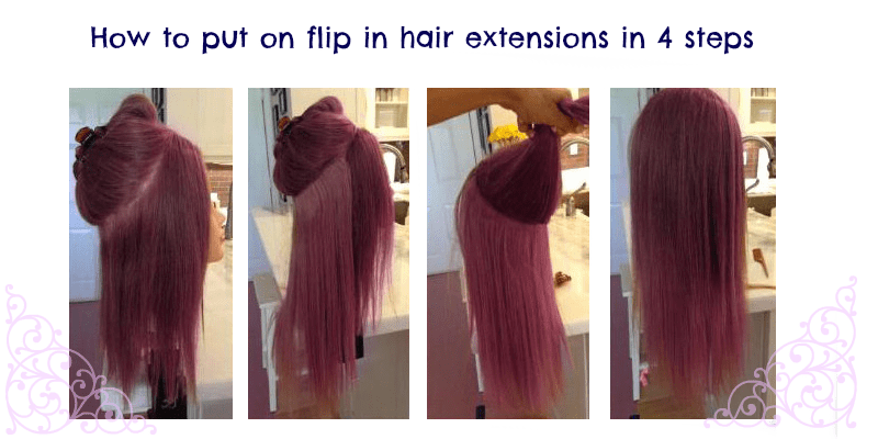 Synthetic Flip In Hair Extensions Are They Worth It