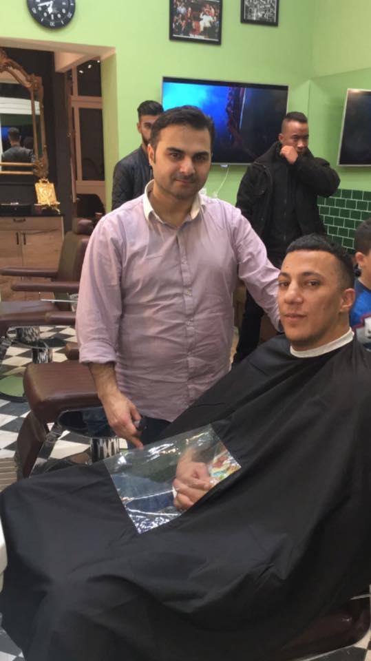 Farid Bang im Hair-Cooles Friseur Berlin