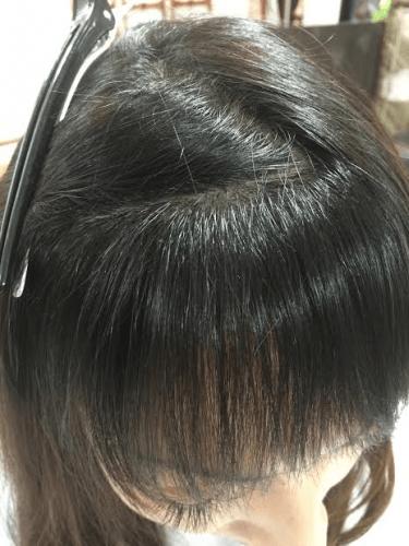 前髪矯正2