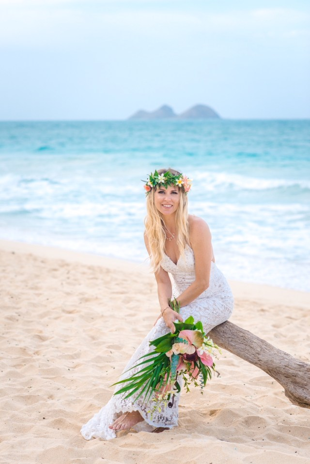wedding photo | hair & makeup hawaii