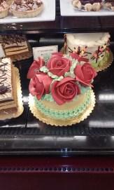 QFC rose cake