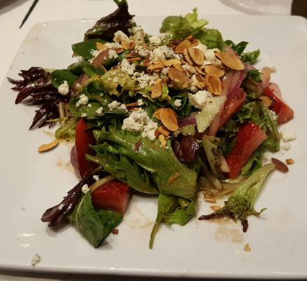 Strawberry Almond Salad