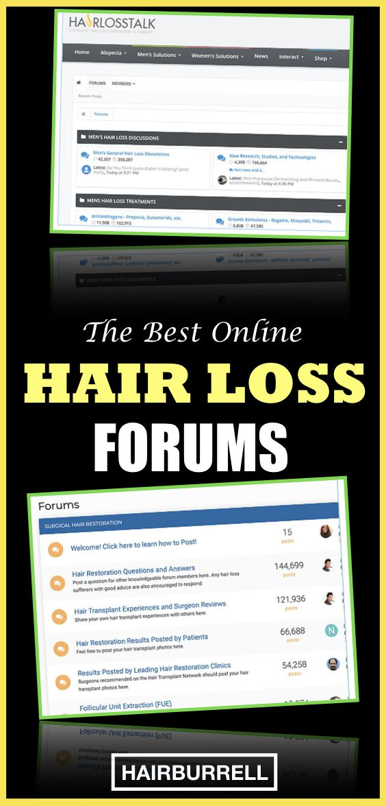The Best Online Hair Loss Forums
