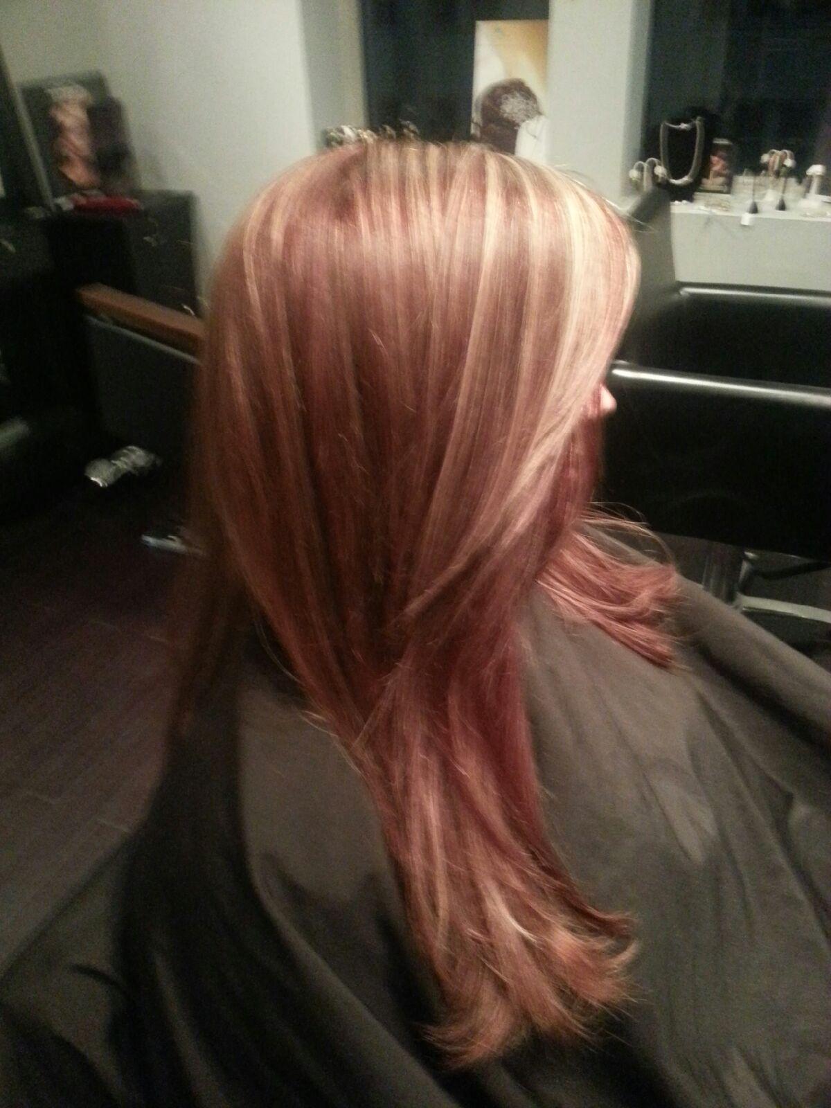 Red Hot Auburn West Palm Beach Hair Salon Hair By Zaklina