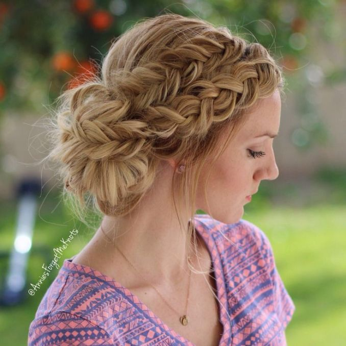 Image Result For Easy Prom Updos For Long Hair