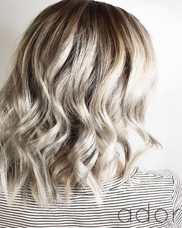 Curly-Ends Best Short Hair Back View 2019