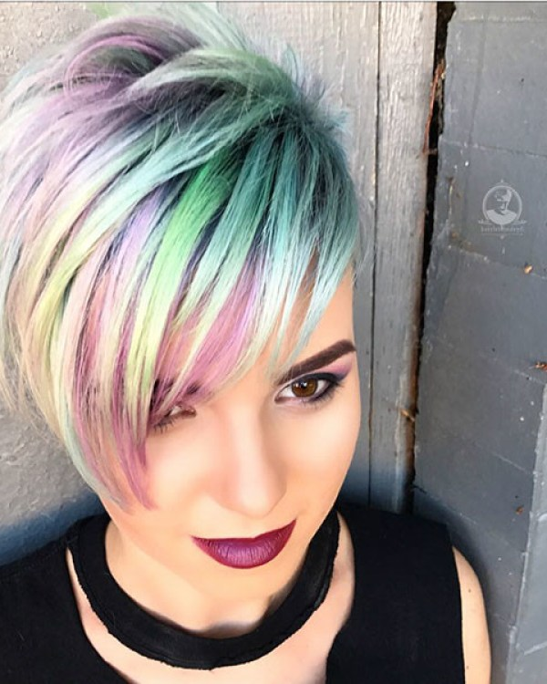 Cute-Hair-Color Cute hairstyles for Short Hair