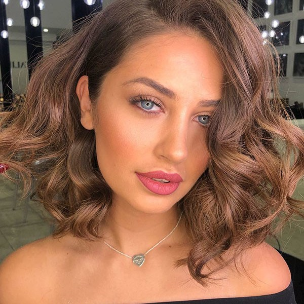 Short-Curly-Hair Popular Short Curly Hair Ideas